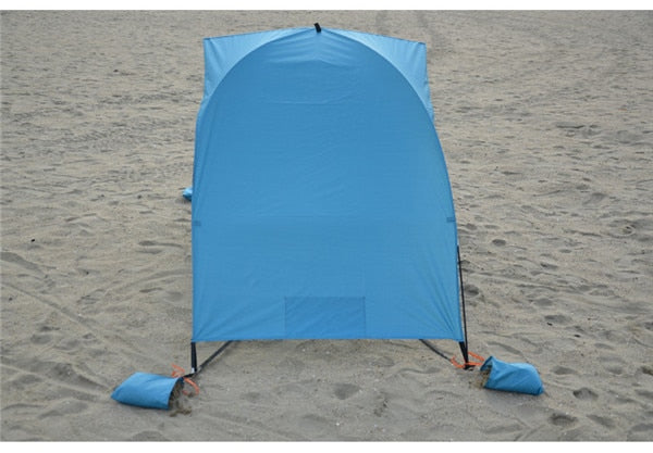 Portable Beach Tent Cabana Sun shade Canopy Fishing Shelter Tents Awning Sunshade Strandtent Summer UV Beach Umbrella Tent - mbrbproducts
