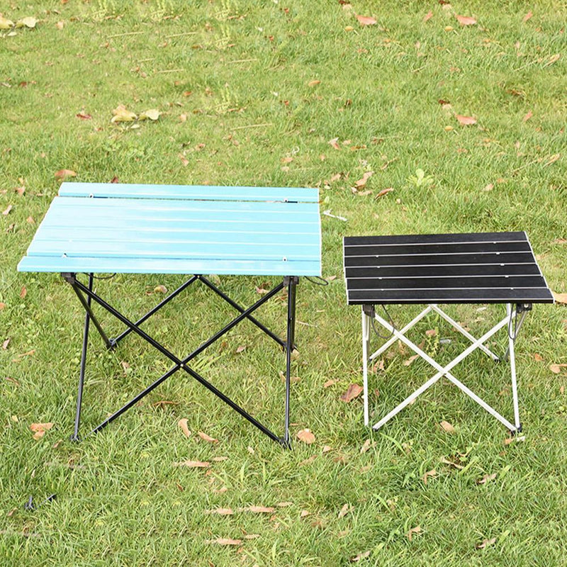 Outdoor Table Portable Foldable Camping Furniture Computer Tables Picnic Size S L  Al Light Color Anti Slip Folding Desk - mbrbproducts