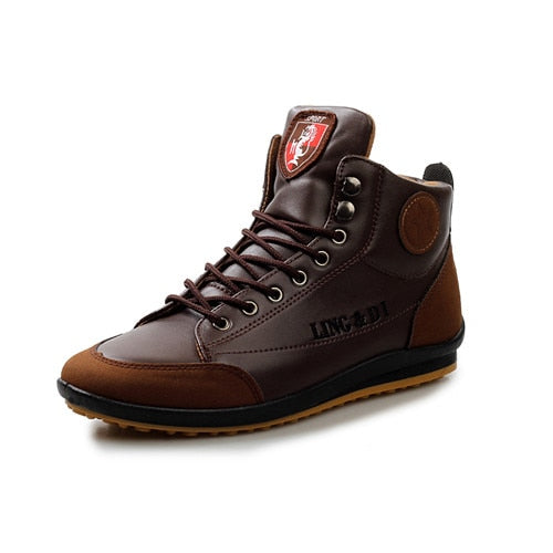 Men's boots winter shoes large size B Department Botas Hombre leather boots shoes sneakers boots men shoes - mbrbproducts