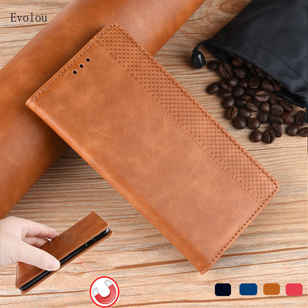 Leather Cover OPPO A9 A5 2020 A11X Magnetic flip wallet OPPO Realme 5 Pro Realme Q Reno 2 - mbrbproducts