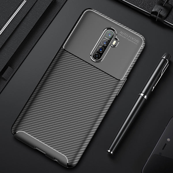 Realme X2 Pro Case Luxury Carbon Fiber Cover Phone Case Oppo Realme X 2 Pro - mbrbproducts
