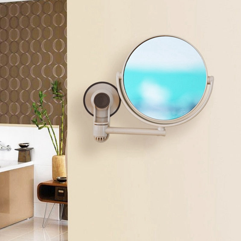 Bath Mirror Cosmetic Mirror 1X/3X Magnification Makeup Mirror Double-Sided Bathroom Mirror - mbrbproducts