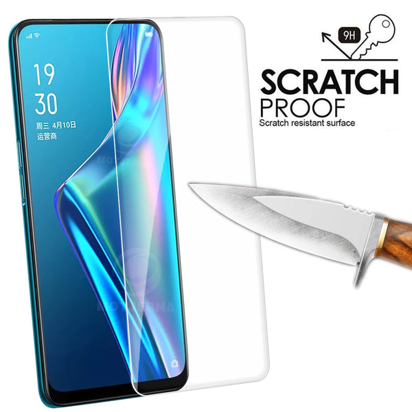 Oppo Reno 2 Z 2Z A5S AX5s AX7 Glass Screen Protector Oppo AS5 Cover Protective - mbrbproducts