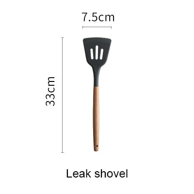 kitchen Cooking Tools Wooden Handle Special Heat-resistant Design - mbrbproducts