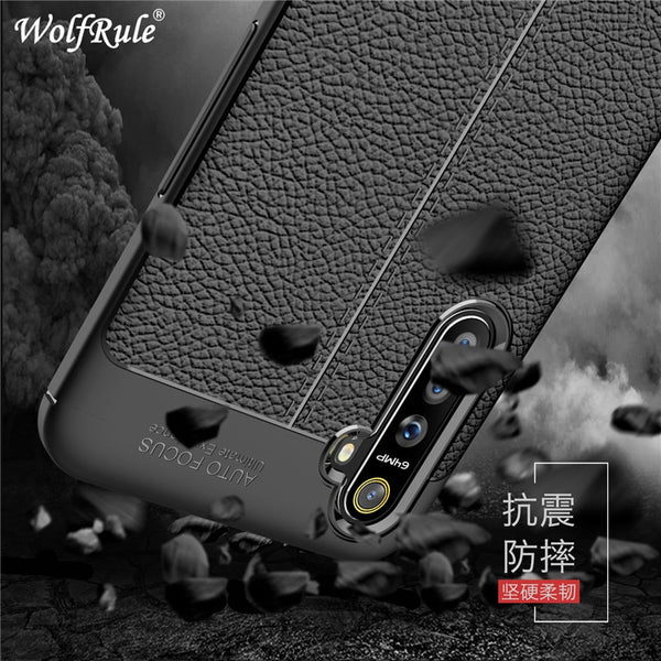 "Case Realme Shockproof Luxury Leather Soft Case Realme X2 Case For Realme XT / X2  Fundas 6.4"" - mbrbproducts"
