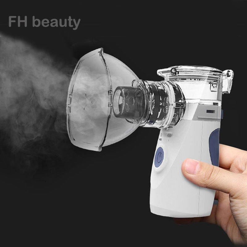 Health Care Mini Handheld portable Inhale Nebulizer silent Ultrasonic inalador nebulizador Children Adult Rechargeable Automizer - mbrbproducts