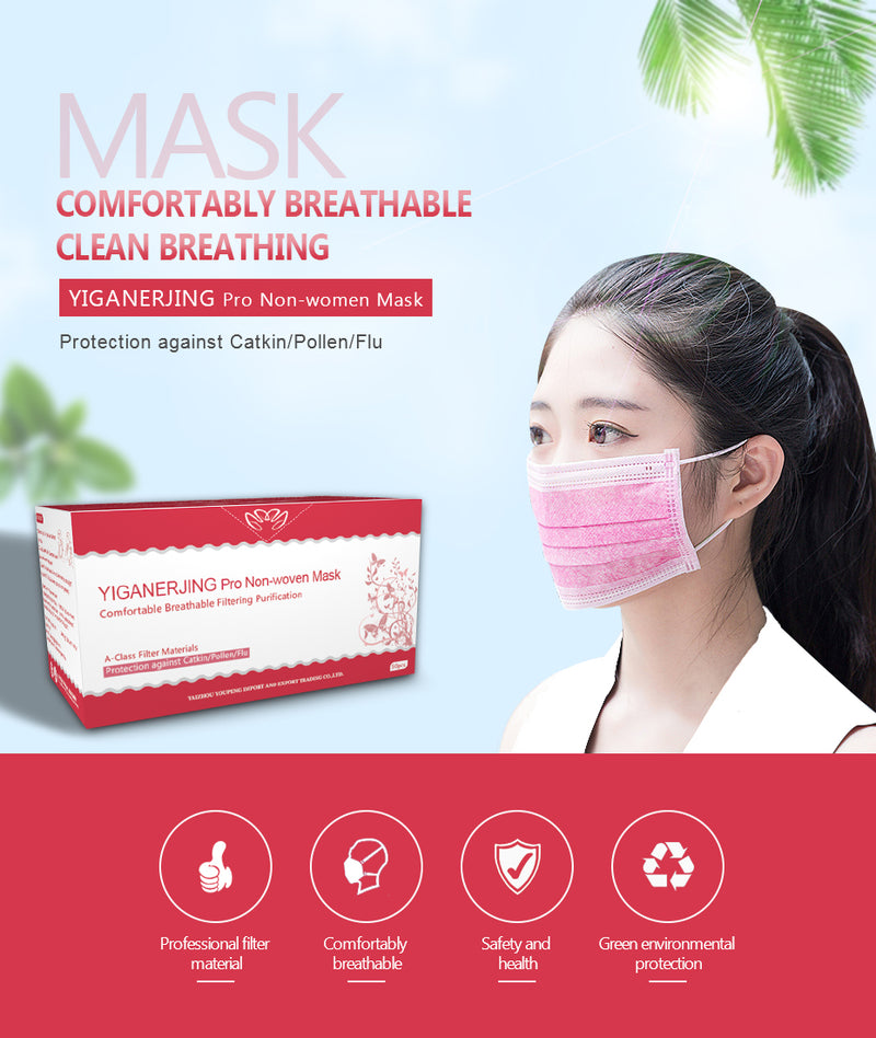 10 PCS Disposable Face Mask 4 Layers Medical dental Activated Face Surgical Masks - mbrbproducts