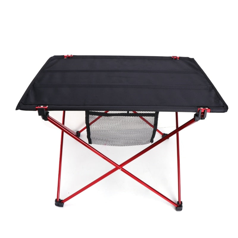 Outdoor sports, leisure, children, adults, folding, ultra-light aluminum, portable camping picnic mini table - mbrbproducts