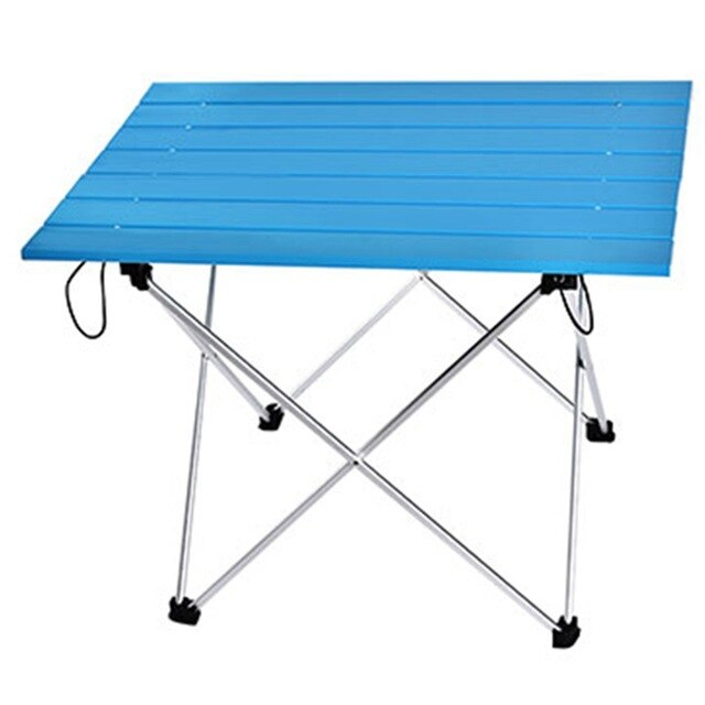 ELEG-Portable table foldable folding camping hiking table travel outdoor picnic aluminum super light - mbrbproducts