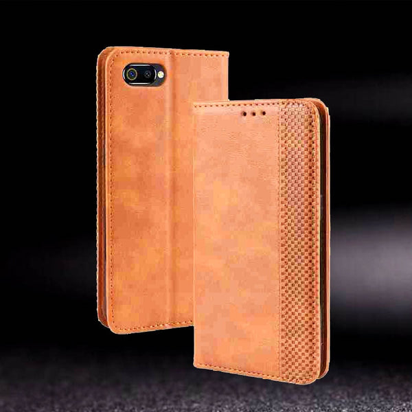 Leather Case Oppo Realme C2 5 Pro 5s XT  X2 Pro Cover Case Oppo A1K A5S - mbrbproducts