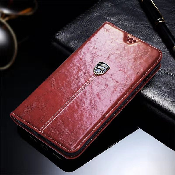 Leather Case OPPO Realme 3 5 Pro 3i C2 Wallet Flip OPPO Realme Q X Lite XT X2 10x Stand Cover - mbrbproducts