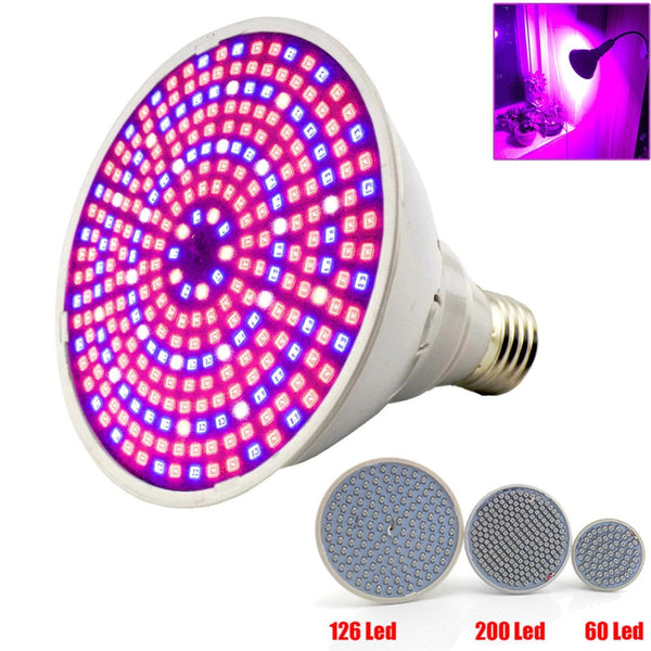 Full spectrum Plant Grow Led Light Bulbs Lamp lighting for Seeds hydro Flower Greenhouse Veg Indoor garden E27 phyto growbox - mbrbproducts