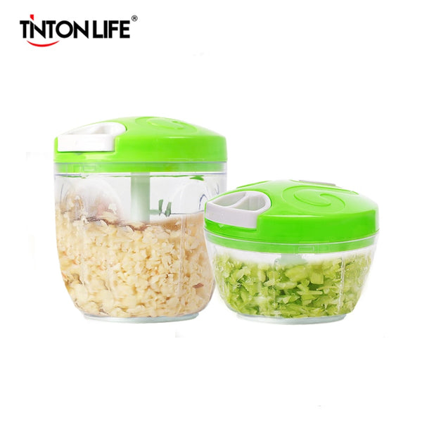 Manual Food Processor Chopper Blender Slicer Safe Durable Kitchen - mbrbproducts