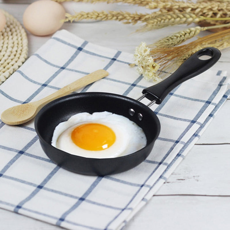 Breakfast Omelette Mini Portable Egg Pot Frying Pan Kitchen Supplies Home 12cm - mbrbproducts
