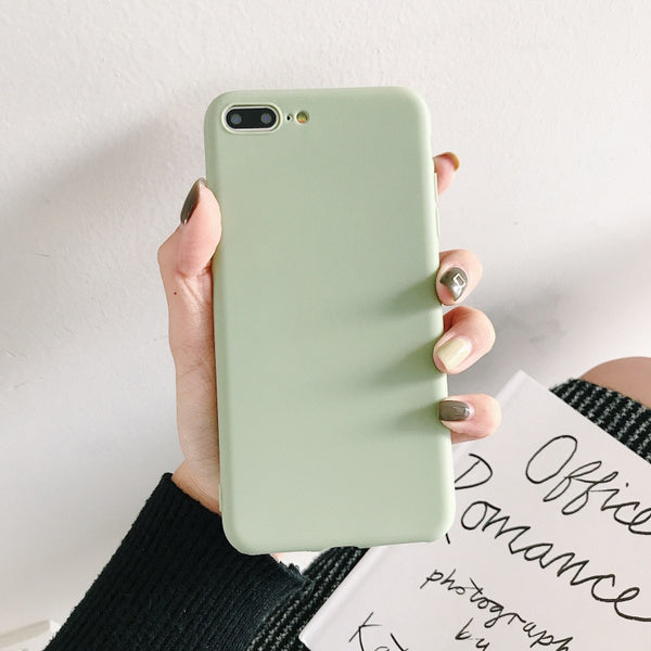 OPPO A3S F9 Pro F5 Plus A73 A83 Case Soft Candy Color Plain Matte Many Colors - mbrbproducts