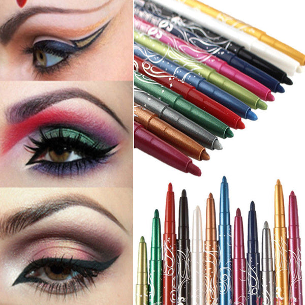 Professional Eye Shadow Eyeliner Lip Liner Pen Pencil Makeup Cosmetic Set Beauty - mbrbproducts