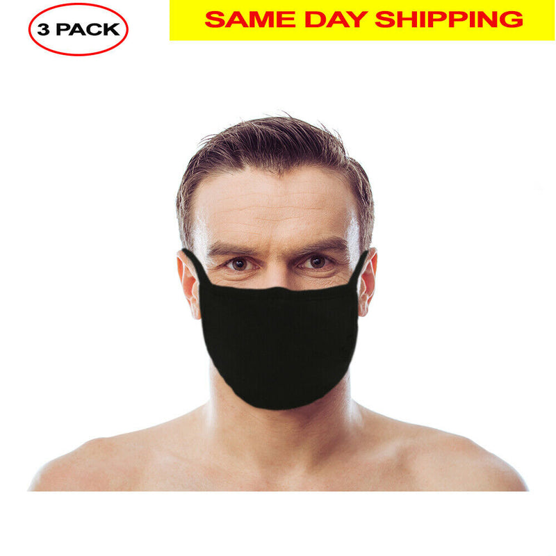 Washable Reusable Face Mask (In Stock) - Double Layer - 3 Pack, Ships From USA - mbrbproducts