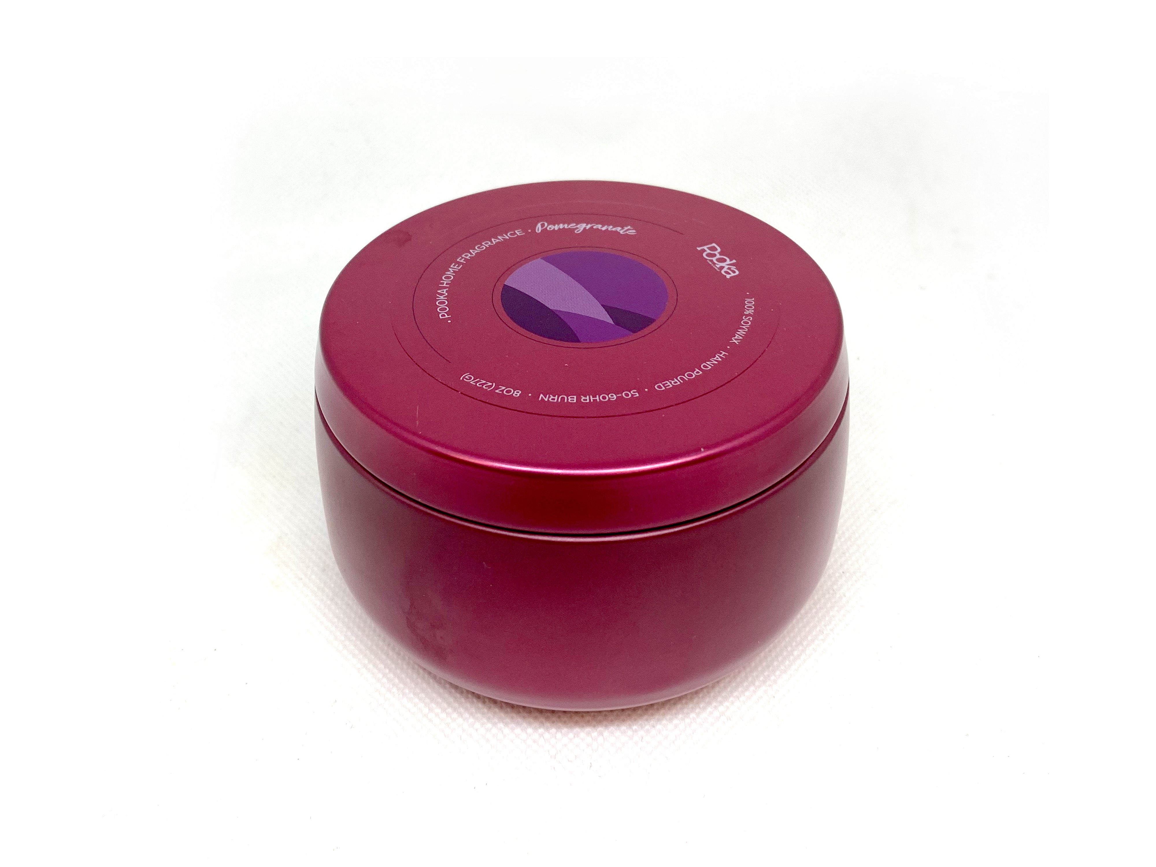 Pomegranate Soy Candle - Pooka Pure and Simple