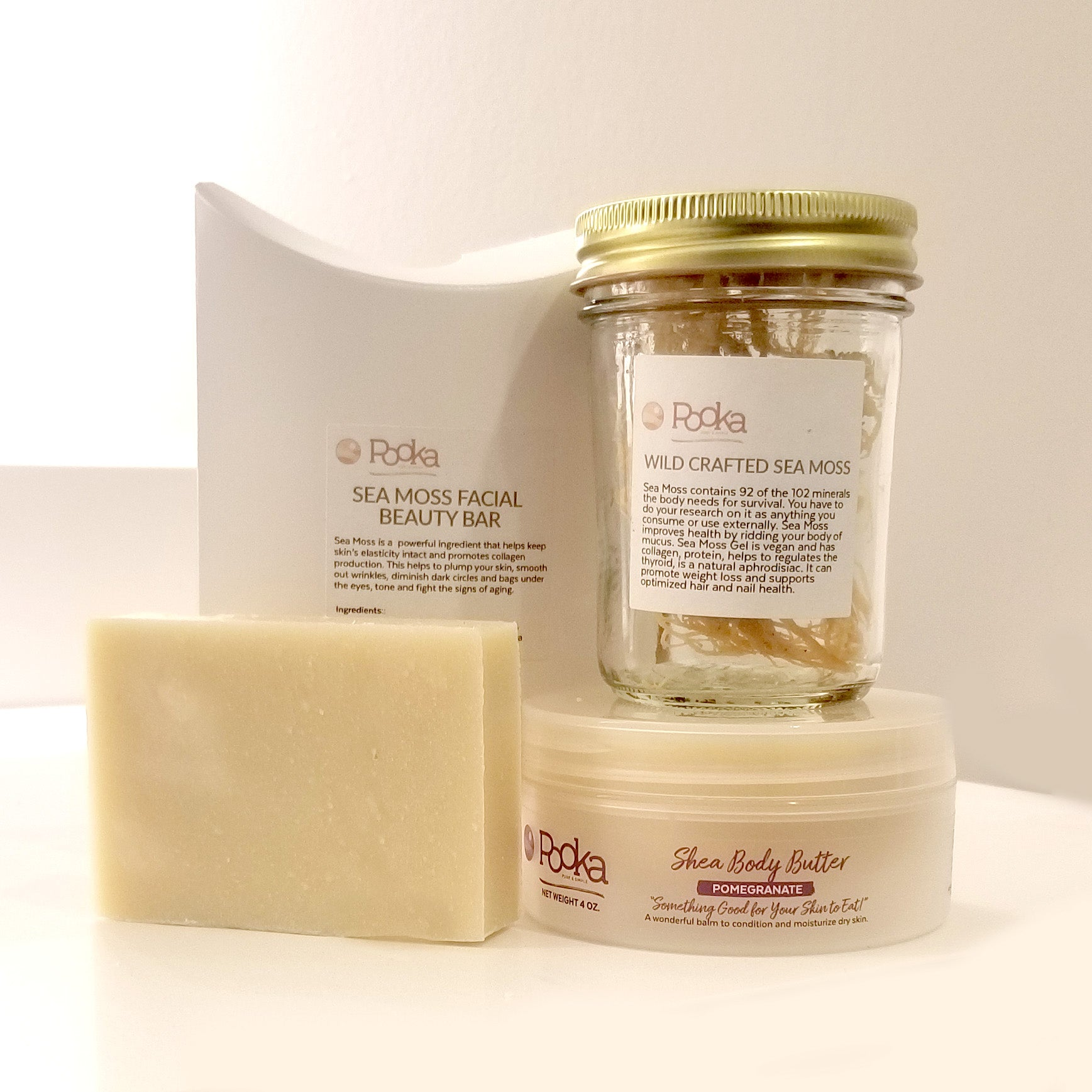 Sea Moss Butter Bundle Seamoss - Pooka Pure and Simple