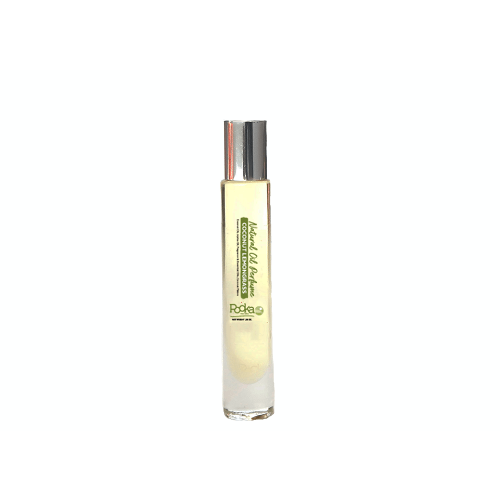 Coconut Lemongrass Natural Oil Perfume - Pooka Pure and Simple