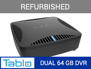 REFURBISHED - Tablo DUAL 64GB Over-The-Air HDTV DVR