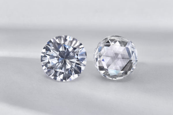 Brilliant Cut vs Rose Cut Diamonds
