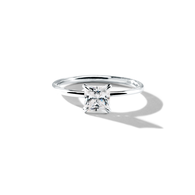 18K White Gold Platinum