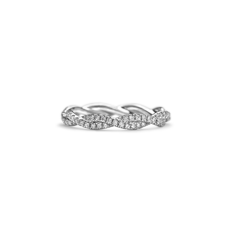 14K White Gold Platinum