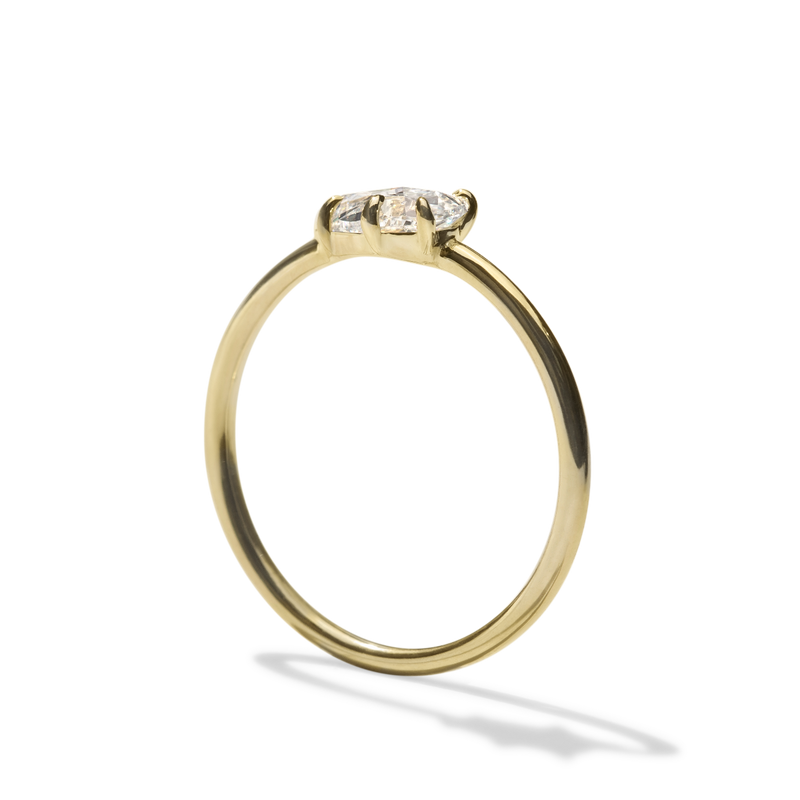 Arc Engagement Ring
