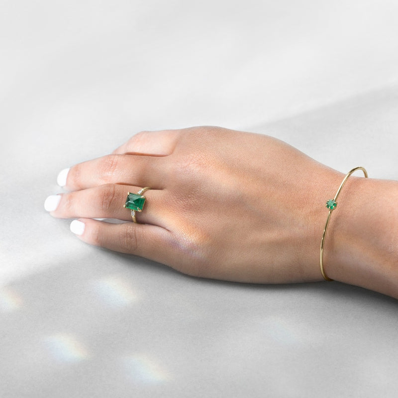 Malay in Emeralds and Diamonds