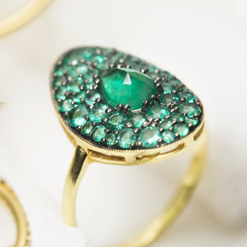 Esther in Emeralds