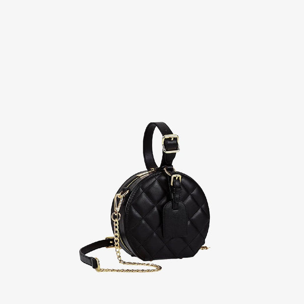 Diamond Round Bag - Virago