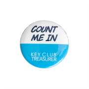 Key Club Count Me In Button