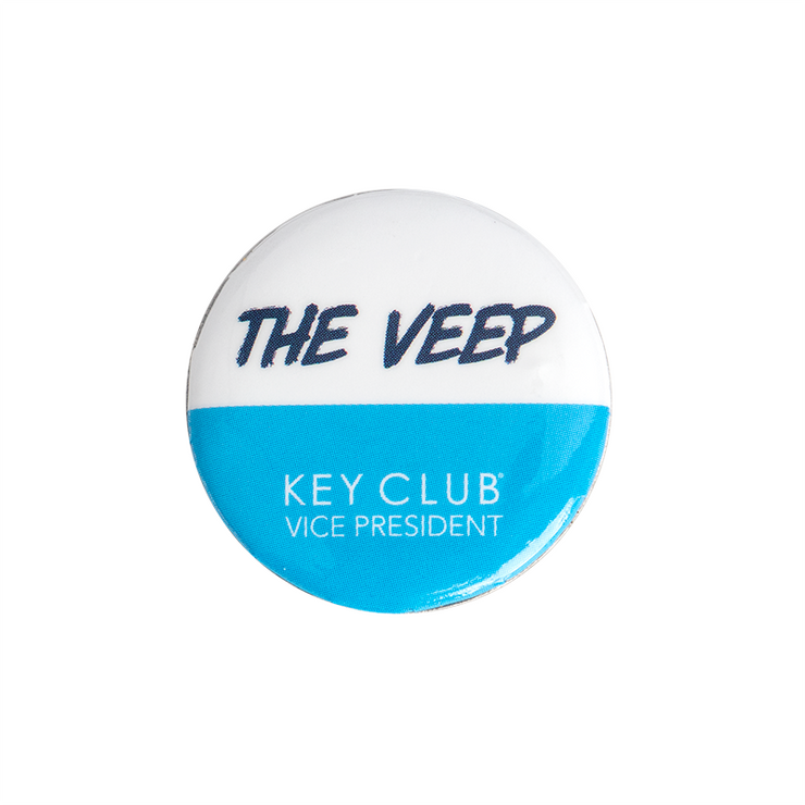 Key Club The Veep Button
