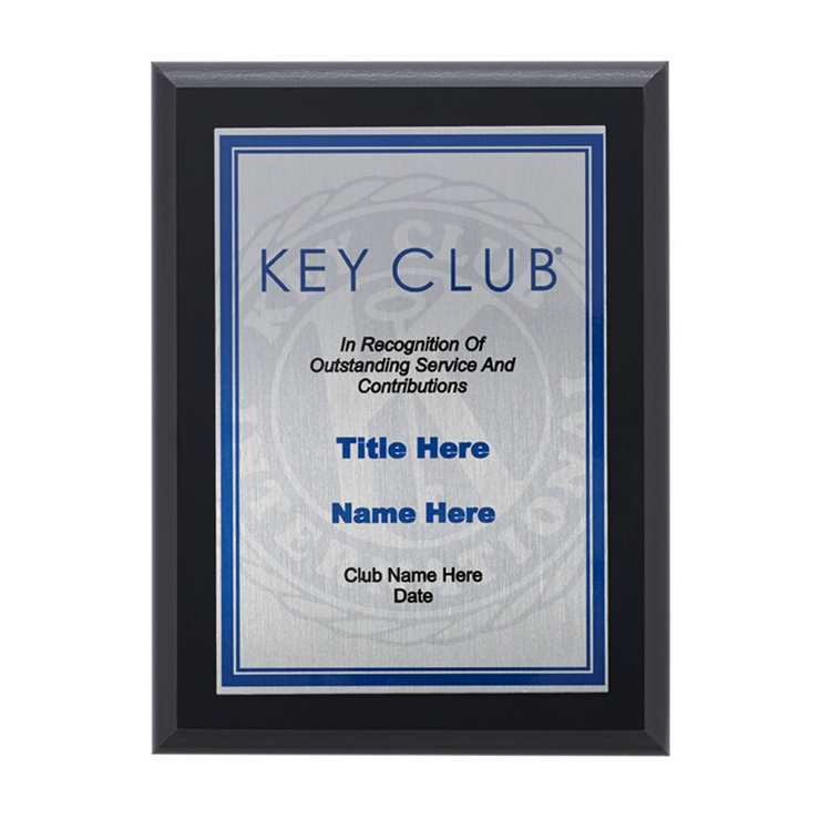 All-Purpose Plaque