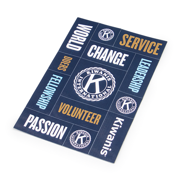 Kiwanis Message Magnets