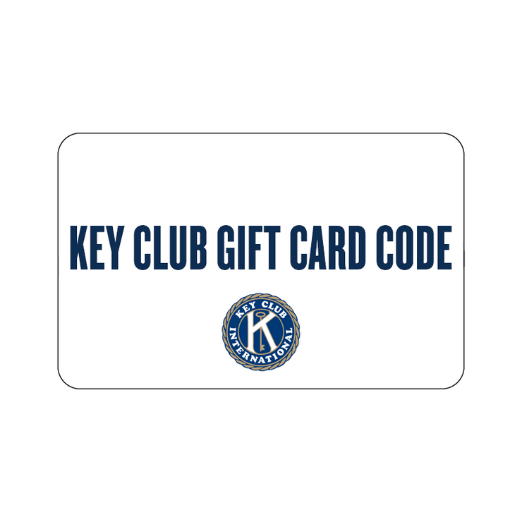 Key Club Gift Card