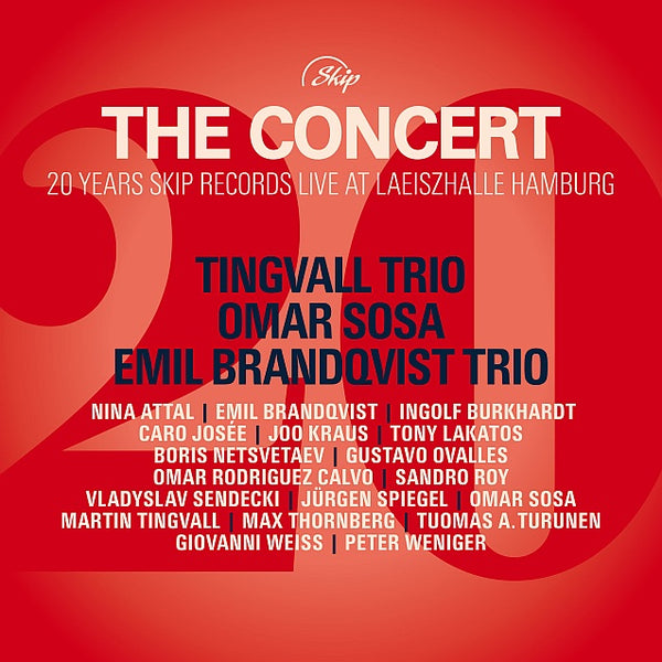 THE CONCERT - 22 unique tracks with Tingvall Trio, Omar Sosa, Emil Brandqvist Trio and many more  - all digital income will be forwarded to the artists