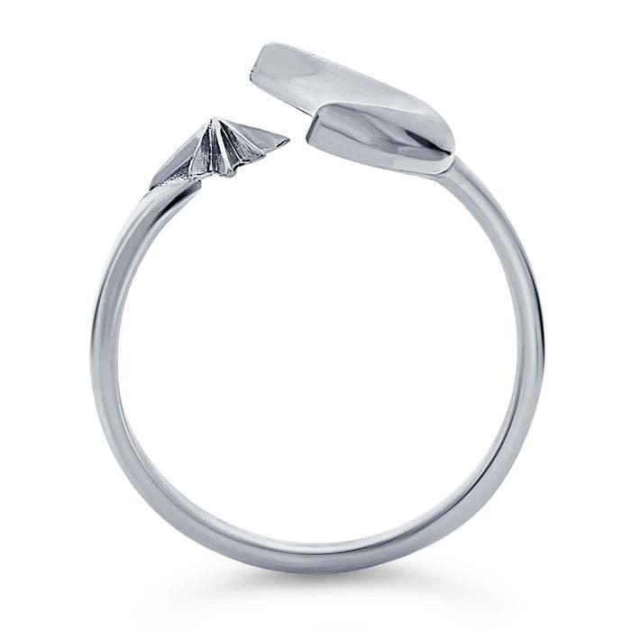Silver sky ring