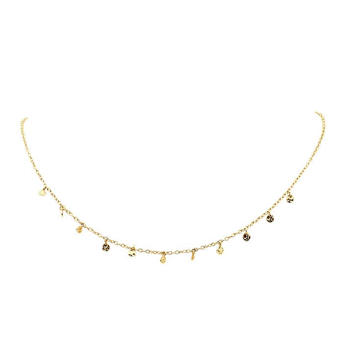 My Little Rocks Choker 14 K GOLD