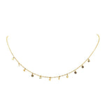 My Little Rocks Choker 14k Gold
