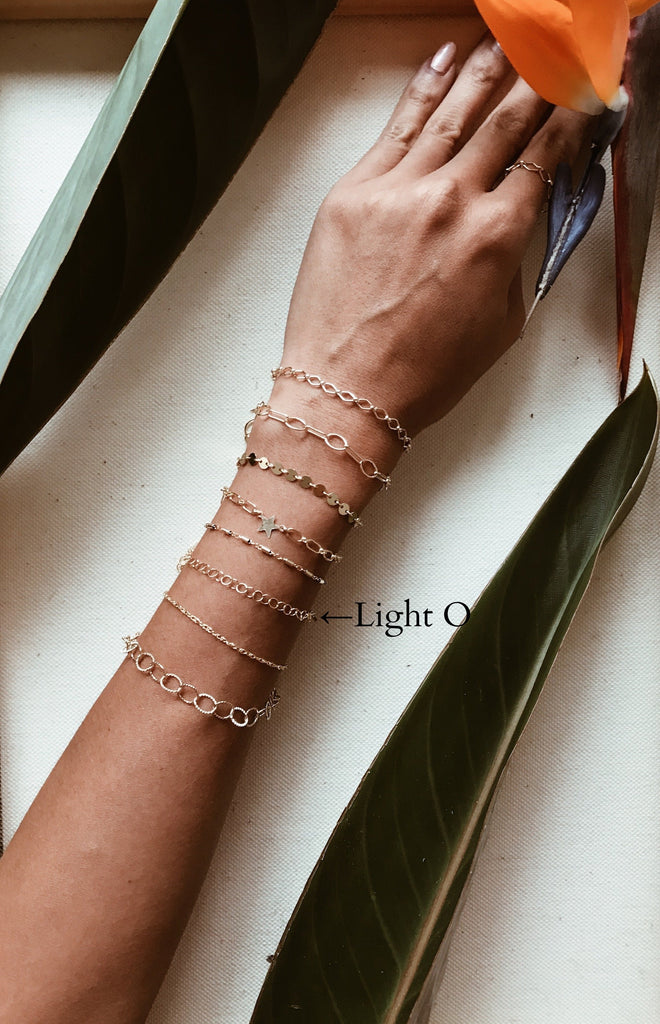 Light O Gold Bracelet/Anklet