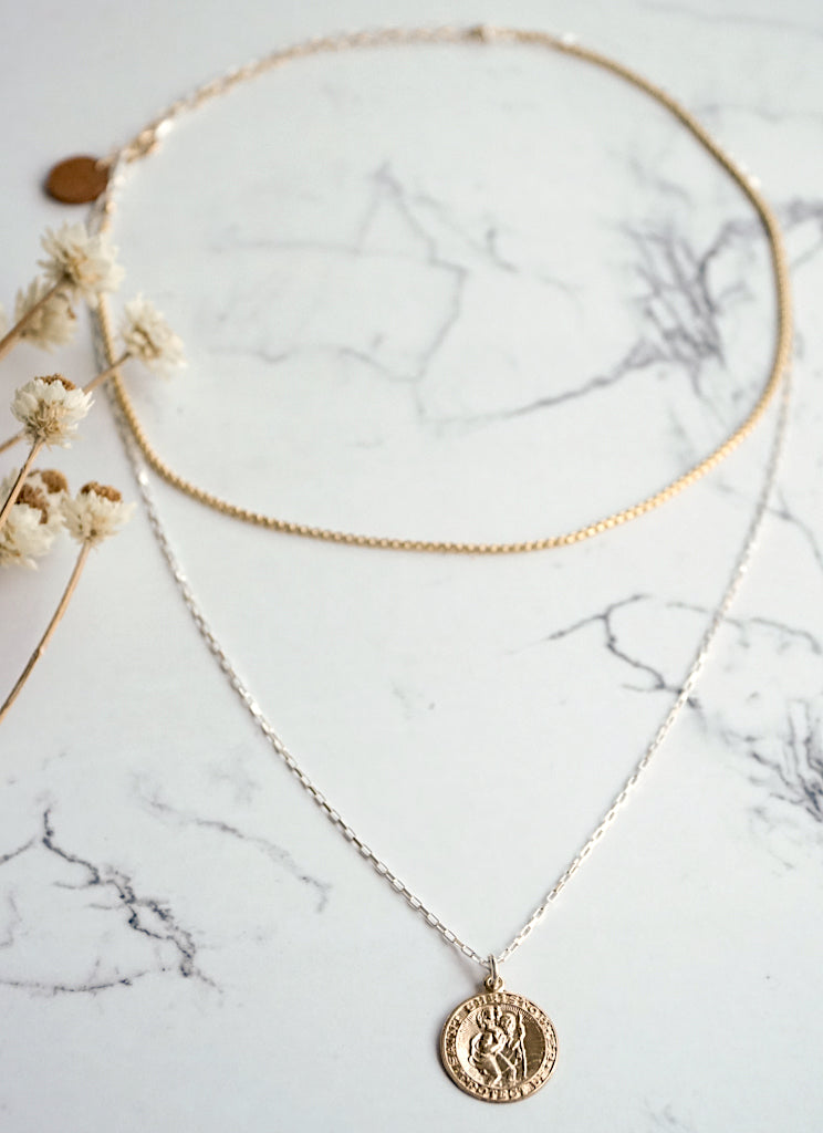 Pale Double Choker-Necklace