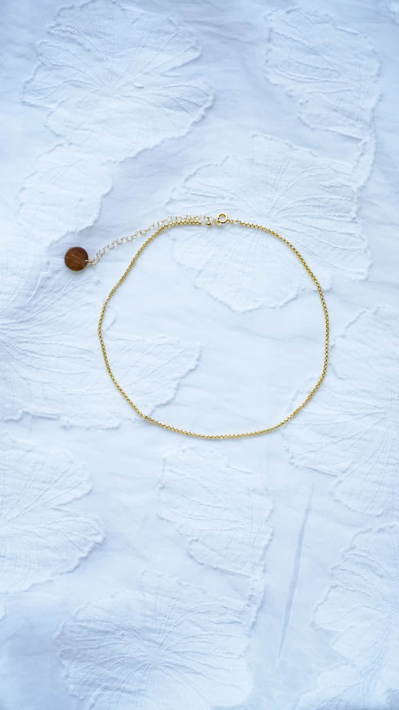 Simple Sparkle Choker