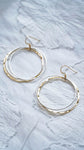 Silver Gold Hoop Earrings