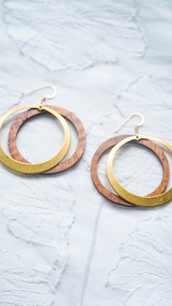 Dawn Hoops Earrings