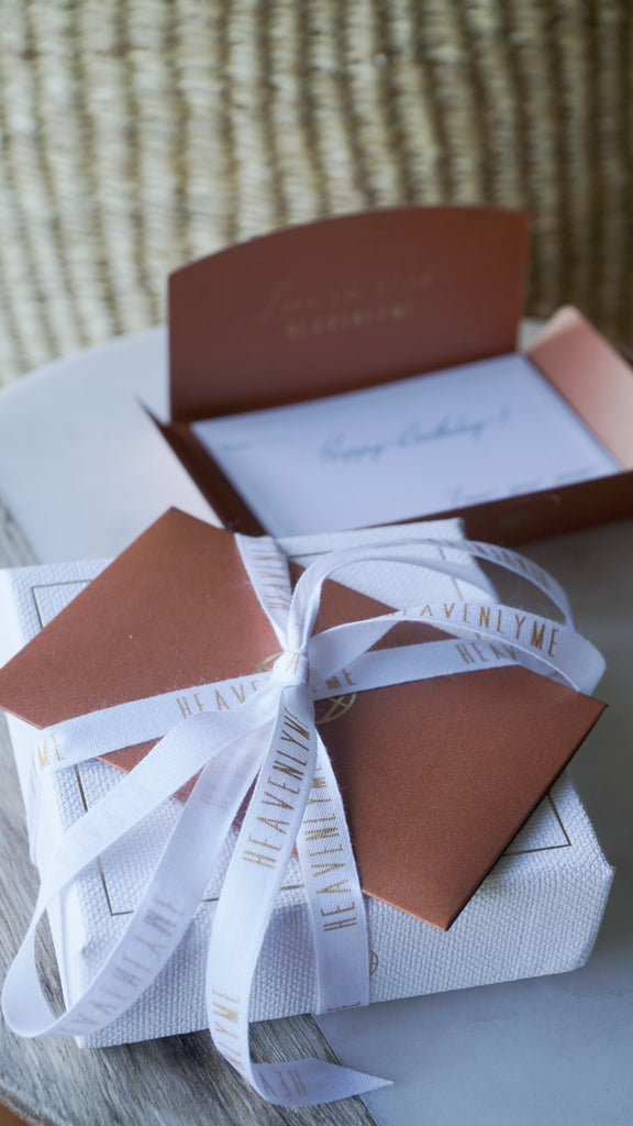 ALOHA Message CARD & WRAPPING