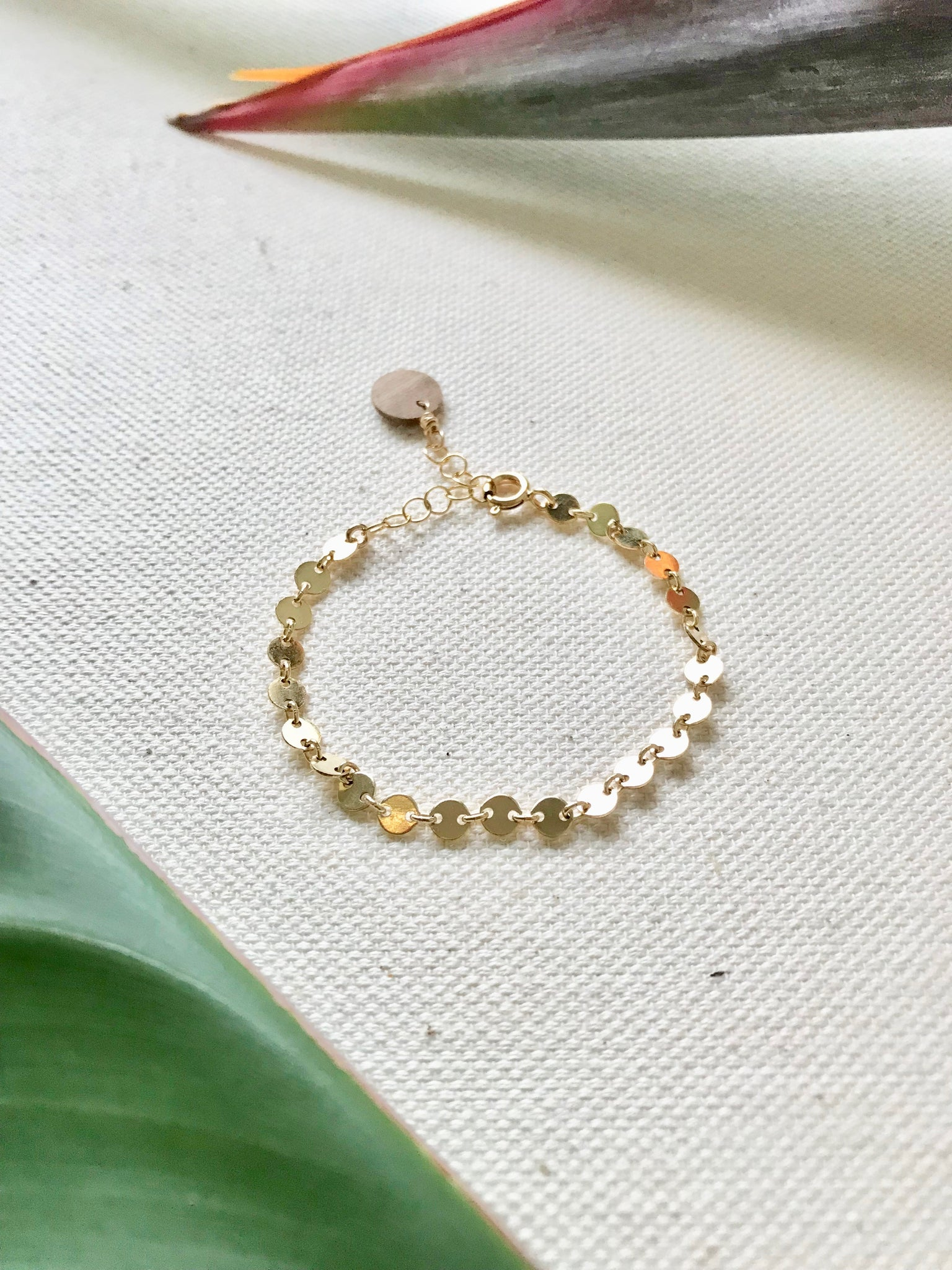 Surround me Gold Bracelet/Anklet