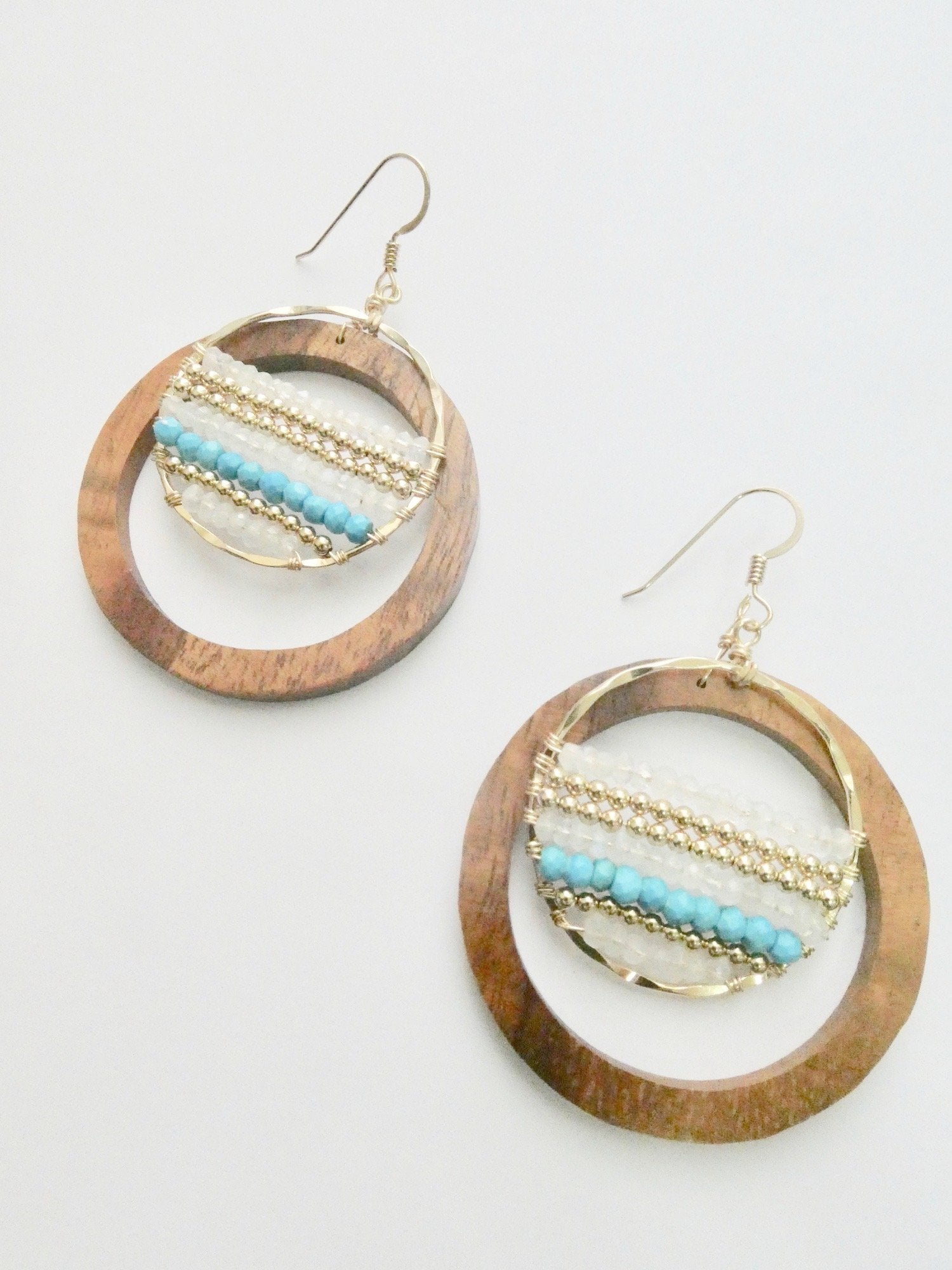 Taavi Adore Koa Wood Earrings
