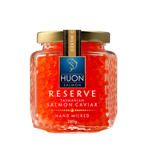Reserve Selection Hand Milked Salmon Caviar